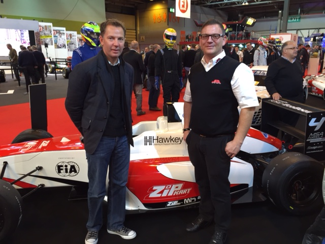 Sponsorship of leading F4 Race Team JHR